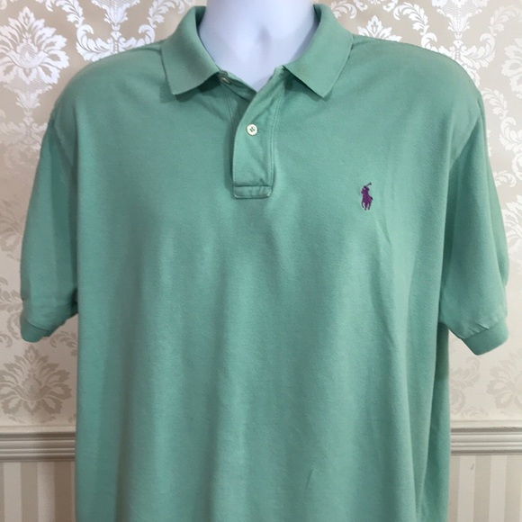 0cb5066eb Men s Ralph Lauren Polo Shirt in Light Green. M 5b8c77b6f41452490b3dd2b2